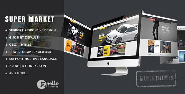 Ap SuperMarket - Shopify Responsive Theme