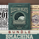 Retro Flyer Bundle - GraphicRiver Item for Sale
