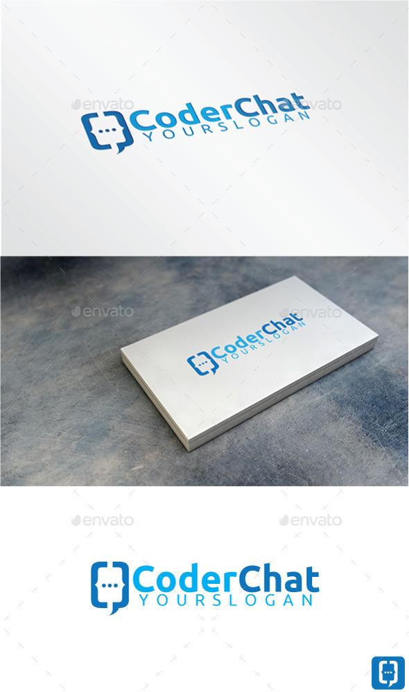 Coder Chat Logo