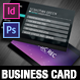 VICE: Dj, Label and Agency Business Card Template - GraphicRiver Item for Sale