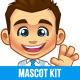 Businessman Mascot Kit - GraphicRiver Item for Sale