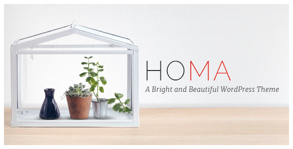 Homa - Elegant WordPress Theme