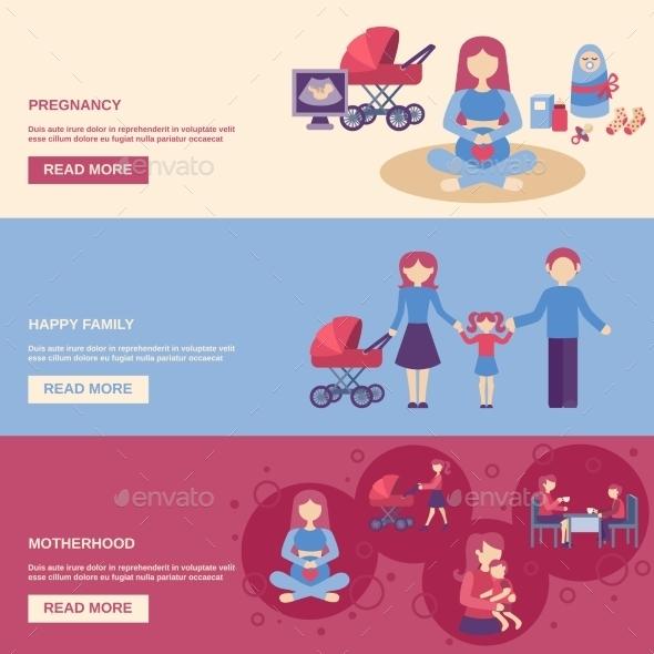 Motherhood Banner Set