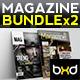 Magazine Template Bundle - InDesign Layout V3 - GraphicRiver Item for Sale