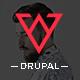 Viska - Creative One Page Drupal Theme - ThemeForest Item for Sale