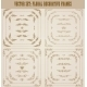Set of Gold Decorative Borders and Frame - GraphicRiver Item for Sale