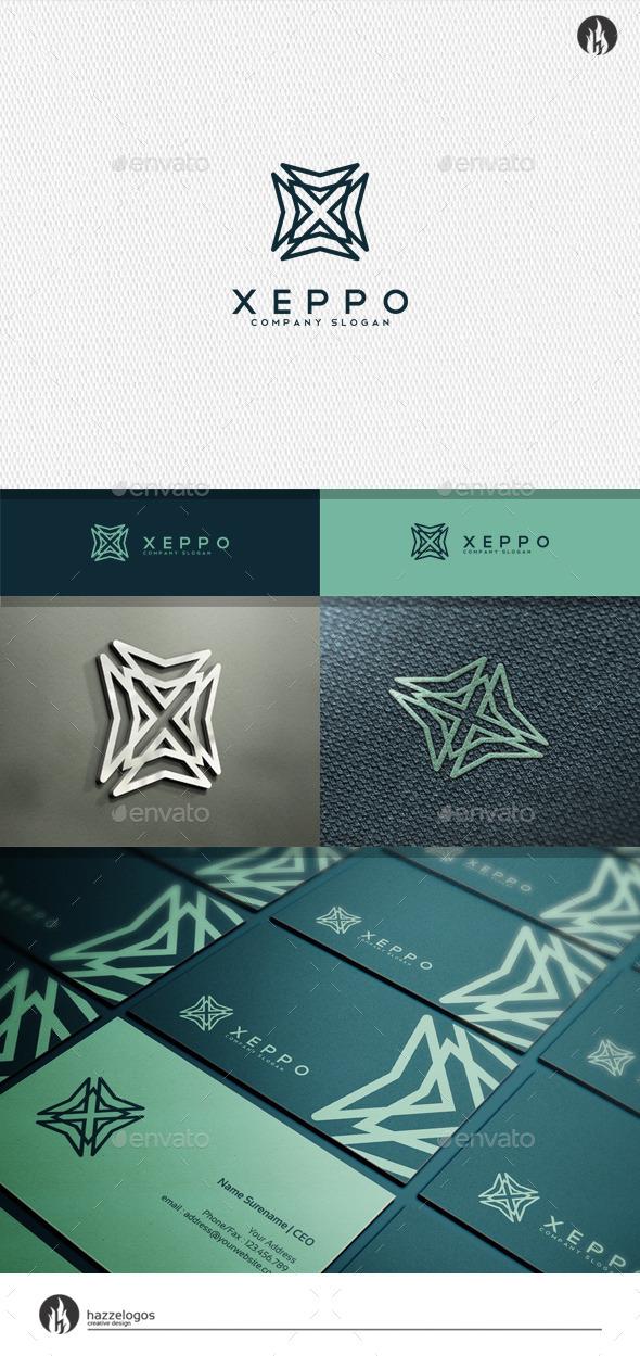 Xeppo - Letter X Logo