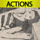 Drawing Photoshop Action - GraphicRiver Item for Sale