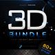 Modern 3D Text Effects Big Bundle - GraphicRiver Item for Sale