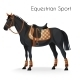 Horse with Equestrian Sport Equipment  - GraphicRiver Item for Sale