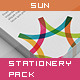 Sun - Corporate Stationery Pack - GraphicRiver Item for Sale