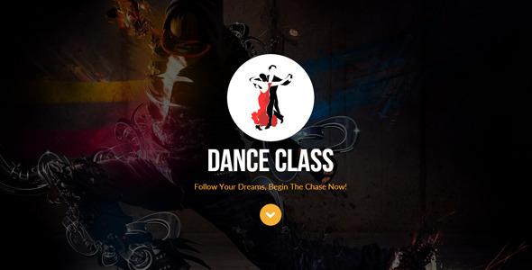 Dance Class Muse Template