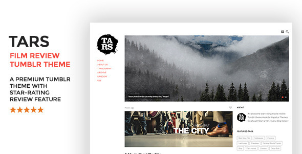 Tars Film Review Tumblr Theme