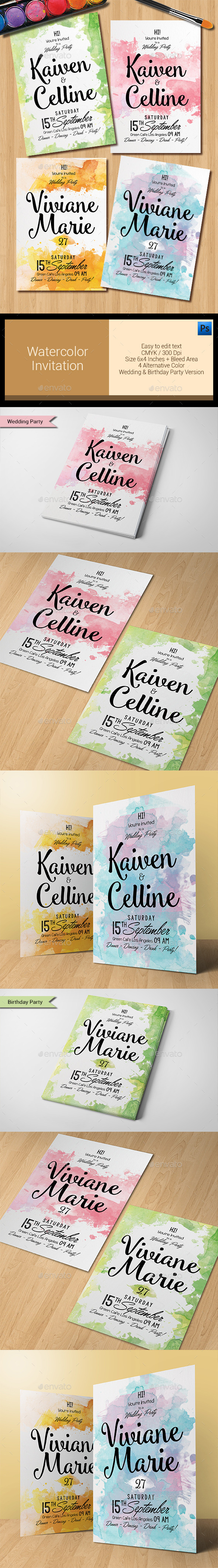 Engagement Card Designs & Invite Templates from GraphicRiver