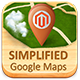 Simplified Google Maps for Magento - CodeCanyon Item for Sale