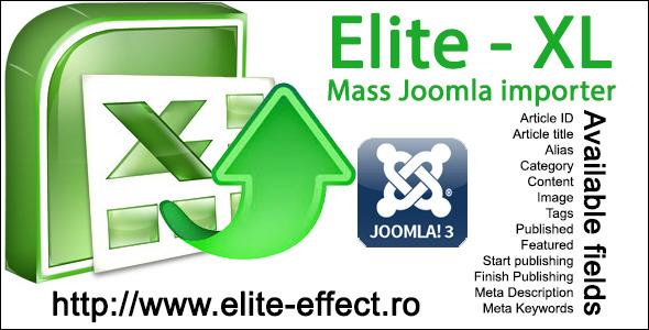 Elite-XL - Joomla 3x Mass Content Importer