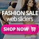 Fashion Sale Web Sliders 5 PSD - GraphicRiver Item for Sale