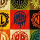 25 Monogrames Badge Labals With Alphabet v1 - GraphicRiver Item for Sale