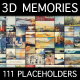 3D Memories — Collage Slideshow - VideoHive Item for Sale