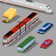 Low Poly Transport Vol.1 - 3DOcean Item for Sale