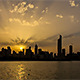 Golden Sunset above the City - VideoHive Item for Sale