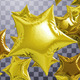 Golden Star Balloons - VideoHive Item for Sale