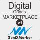 Simple Digital Good Marketplace - GeniXMarket DG - CodeCanyon Item for Sale
