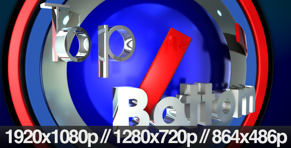 Corporate Broadcast 3D TV News Logo Opener