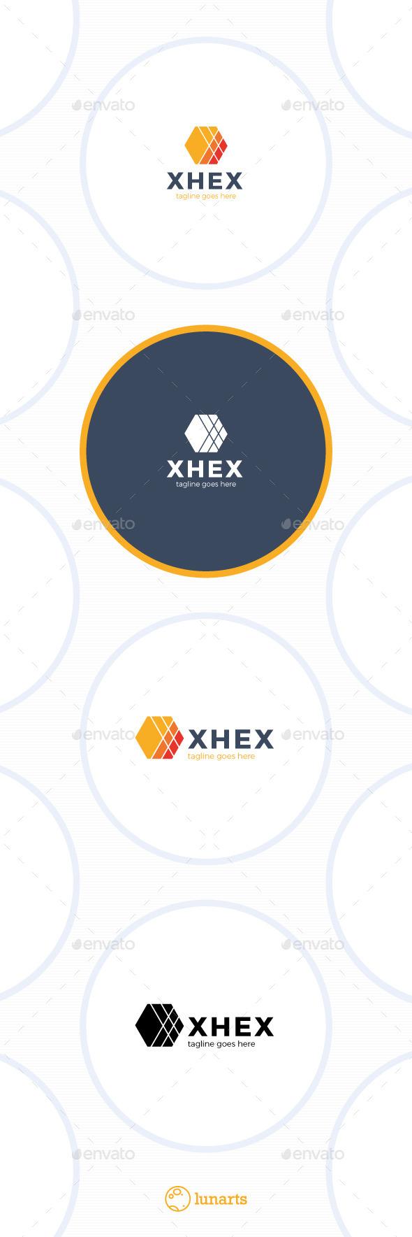 Hex Logo - Letter X