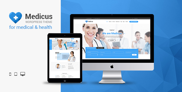 Medicus - Clinic & Medical WordPress Theme