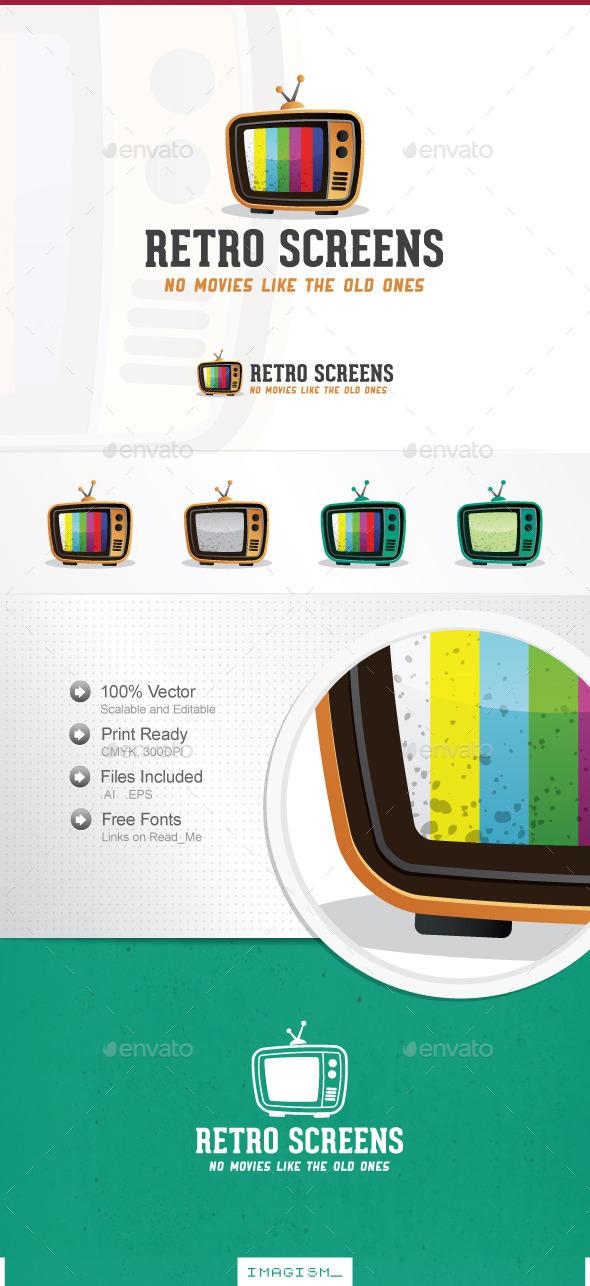 Retro Screens Logo