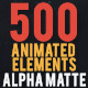 Shape Elements 2 Quick Time with Alpha Channel - VideoHive Item for Sale
