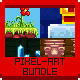 2D Pixel Art Bundle Pack - GraphicRiver Item for Sale