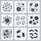 Vector Bacteria, Microbes Icon Set - GraphicRiver Item for Sale