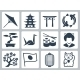 Japan Related Vector Icon Set - GraphicRiver Item for Sale