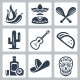 Mexico Related Vector Icon Set - GraphicRiver Item for Sale