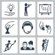 Vector Conceptual Icon Set Of Success Business - GraphicRiver Item for Sale