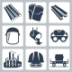 Metallurgy Related Vector Icon Set - GraphicRiver Item for Sale