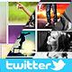 Twitter Photo Collage Header Bundle - GraphicRiver Item for Sale