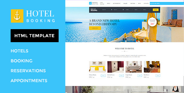 Hotel Website Templates From Themeforest