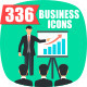 336 Business flat Icons  - GraphicRiver Item for Sale