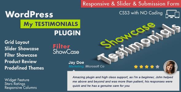 Testimonials Showcase Wordpress Plugin Download