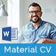 Material CV/Resume - GraphicRiver Item for Sale