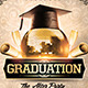Graduation After Party Flyer Template - GraphicRiver Item for Sale