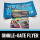 Metro Single-Gate Folder - GraphicRiver Item for Sale