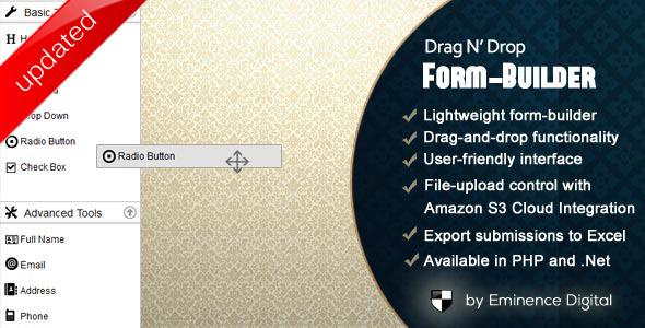 Drag & Drop Custom Multistep Form Builder Download