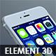 Element3D Apple iPhones Pack - 3DOcean Item for Sale
