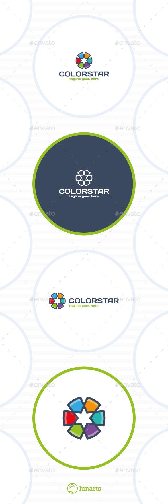 Color Star Line Logo