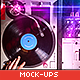 Vinyl Record & Album Cover Mock-ups - Party Pack - GraphicRiver Item for Sale