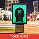 Urban Poster / Billboard Mock-ups - Night Edition - GraphicRiver Item for Sale